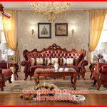 set kursi tamu sofa klasik mewah terbaru natural beauty KTS AH 157