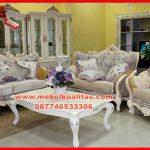 set kursi tamu sofa klasik mewah terbaru Raisya KTS 155
