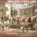 Set kursi tamu sofa mewah Royal KTS BE 170