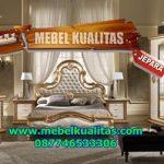 set kamar tidur mewah golden dekorasyon ktm 151