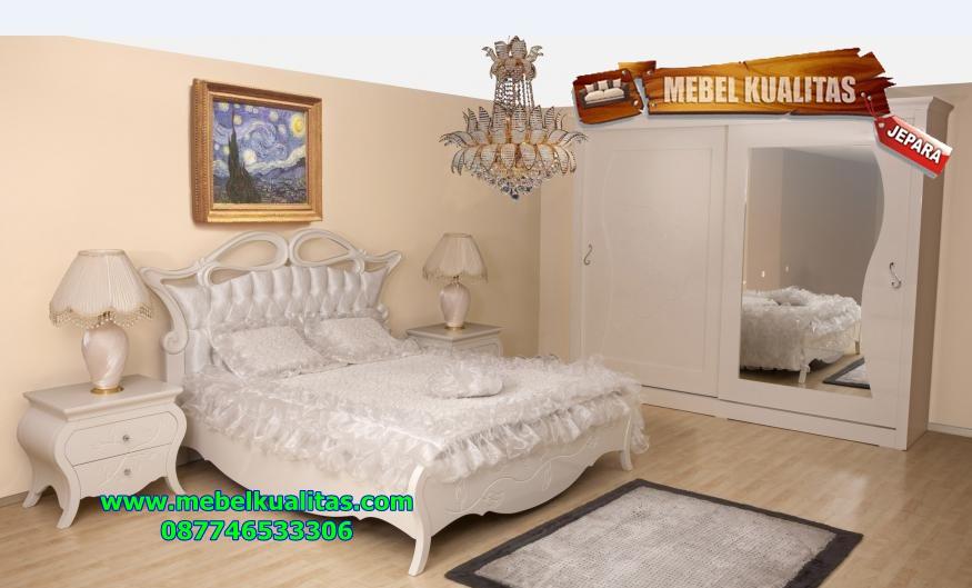 set kamar tidur mewah white beyaz ktm 143