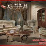 Set kursi tamu mewah sofa terbaru modern Divano KTS AF 176