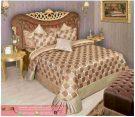 Dipan Tempat Tidur Sayana Ukir Gold Mewah