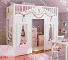 Kamar Tidur Anak Perempuan Loft Bed Princess Modern Design