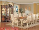 Set Meja Makan Cream Shap Dining Room Set