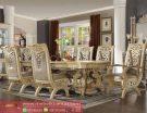 Set Kursi Meja Makan Mewah Classic Luxury Terbaru