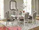Set Kursi Meja Makan Mewah White Melomia Dining Room