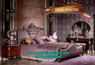 Set Kamar Tidur Mewah Purple Queen – KTM 134