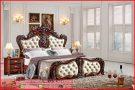kamar tidur set klasik Giberly brown KTM 260