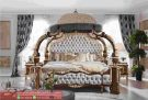 Set Tempat Tidur Savana Ukiran Mewah Modern Design