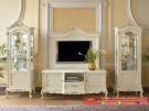 Set Almari Bufet TV Belaya Stile Furniture Klasik Terbaru